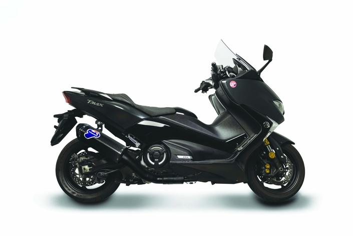 Termignoni « full black » pour le Yamaha T-Max
