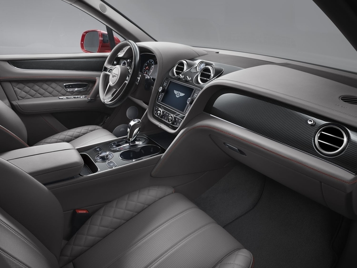 Bentley Bentayga V8: moins puissant mais plus sportif