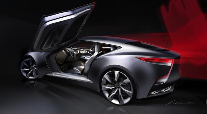 Seoul 2013 : Hyundai HND-9, futur Coupé Genesis