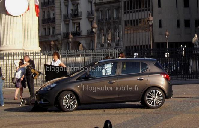 Nouvelle Opel Corsa : déjà nue dans la rue