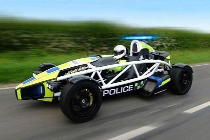 Insolite: une Ariel Atom Police pour atomiser les motards