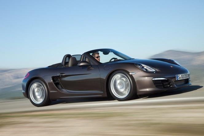 Nouveau Porsche Boxster et Boxster S : officiels