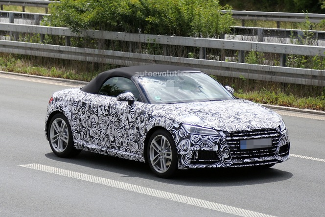Surprise : l'Audi TT Roadster se montre déjà