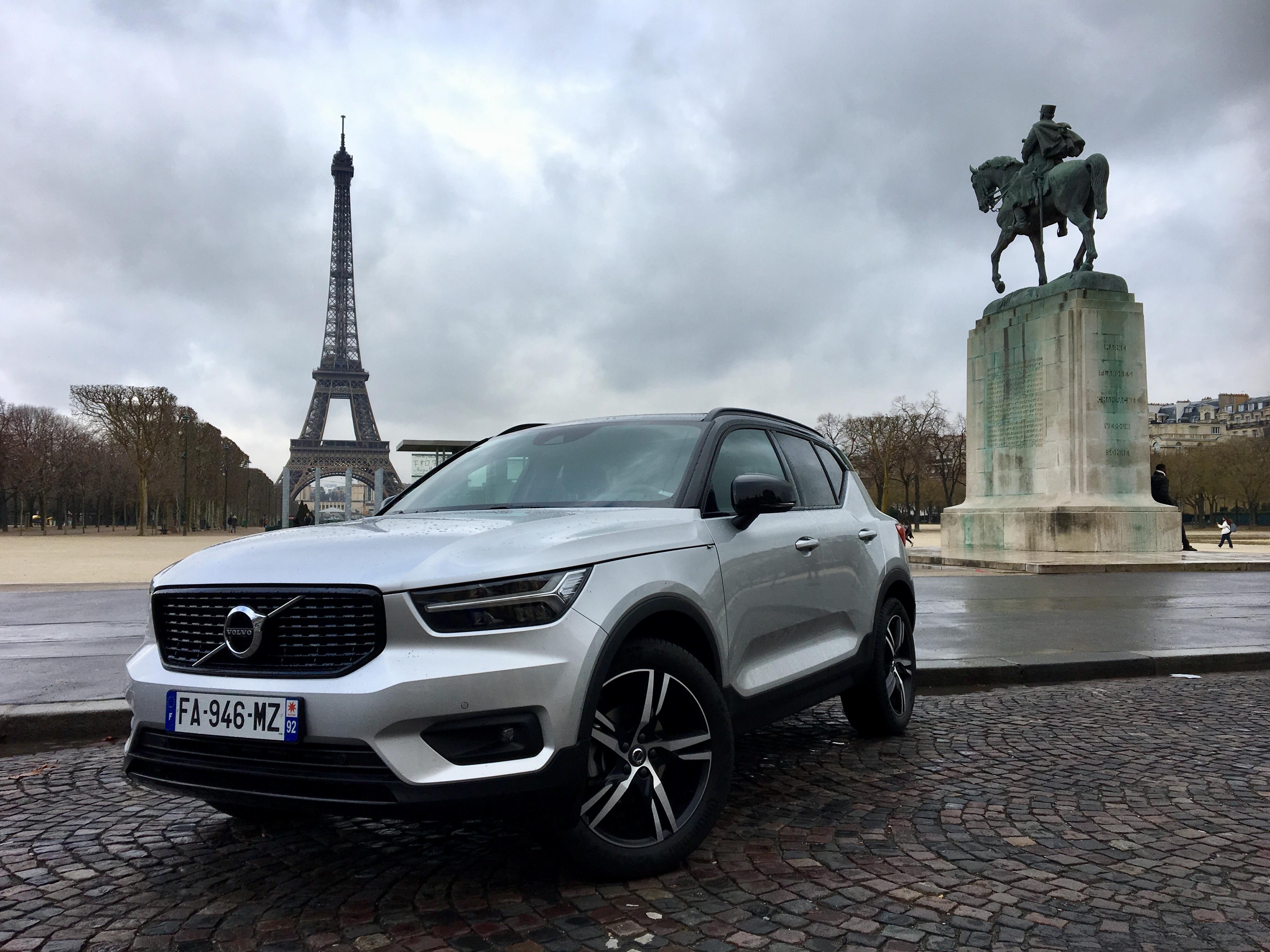 Essai Volvo Xc40 >> Essai Volvo Xc40 T3 Que Vaut Le Moins Cher Des Xc40