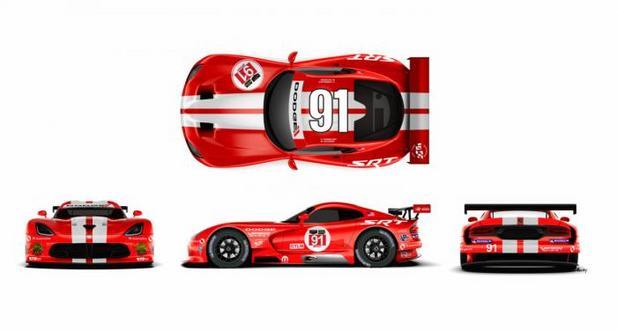Appelez-la Dodge SRT Viper GTS-R