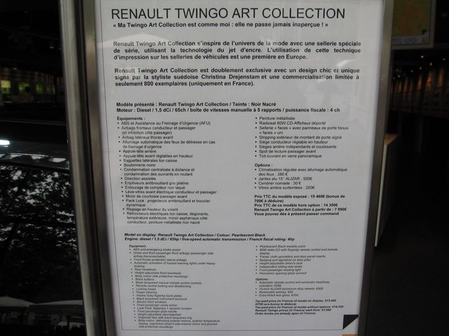 Reportage : la Twingo Art Collection à L'Atelier Renault