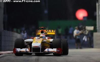 F1-GP de Singapour: La nuit, le vainqueur est gris ! Hamilton premier, Alonso 3ème !