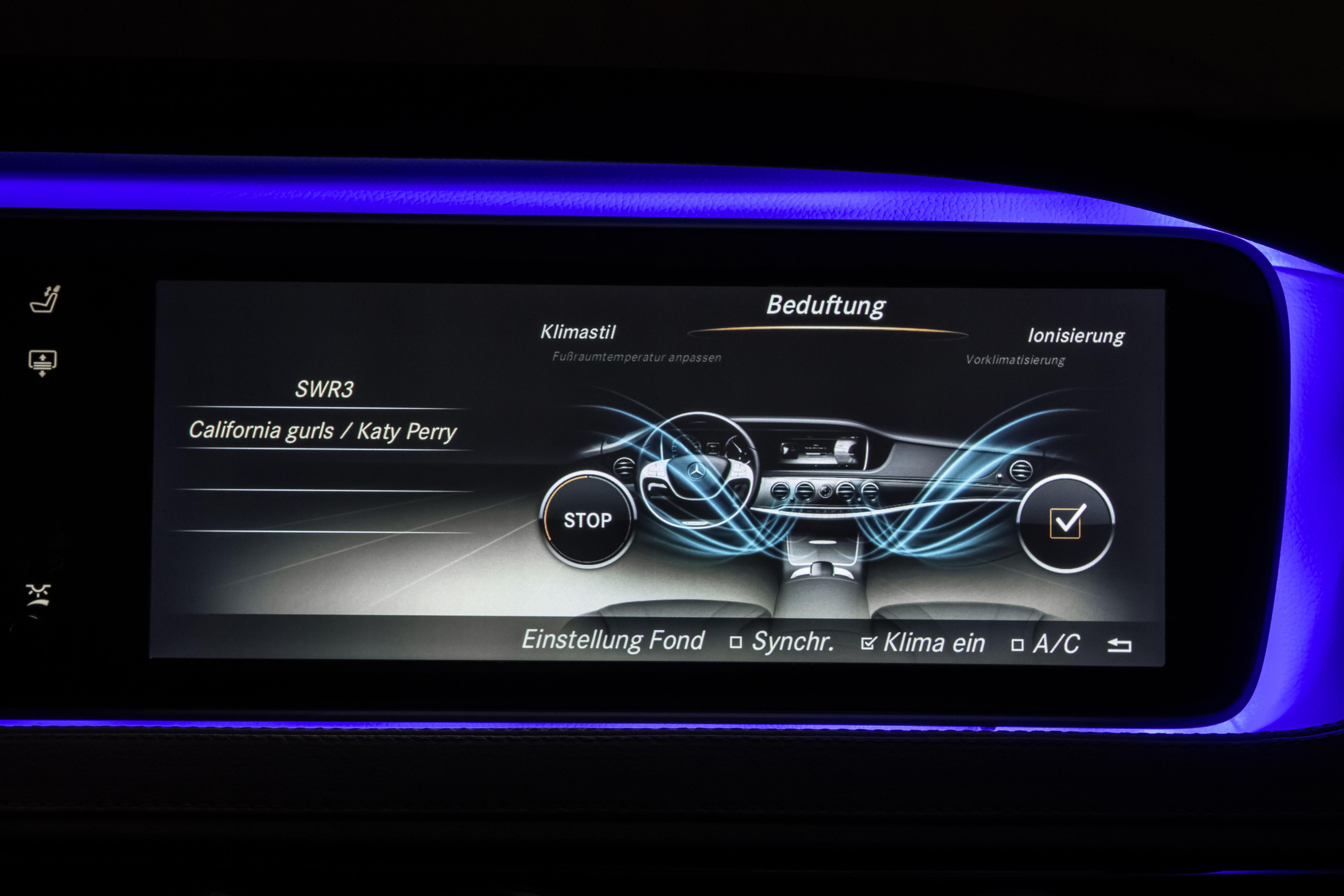 Future mercedes classe s caradisiac vous invite au coeur for Mercedes benz car air freshener