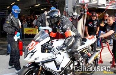 Le team Motors Events champion du monde d'endurance 2011 catégorie Stocksport.