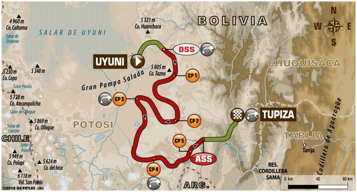 Dakar - étape 7 : Barreda gagne mais se blesse