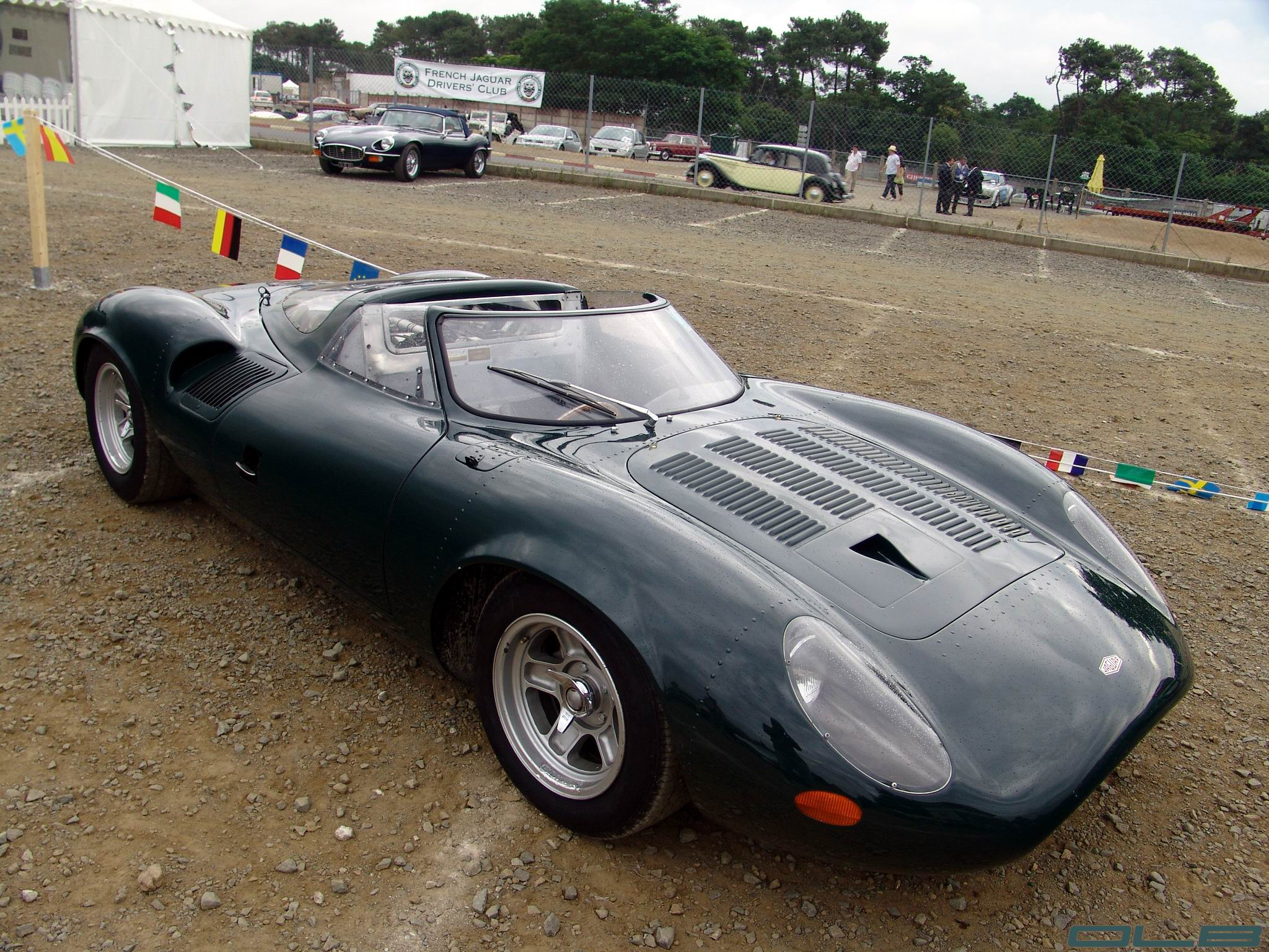 Photo du jour : Jaguar XJ 13