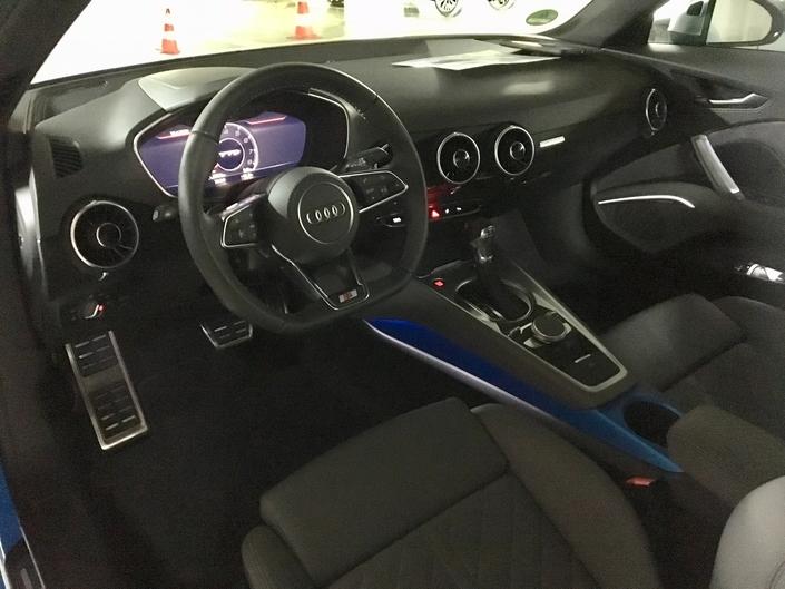 Audi TT 2019 - Retrouvez les premières images de l'essai en direct + Premières impressions