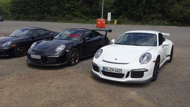 Surprise : la future Porsche 911 GT3 RS de très près