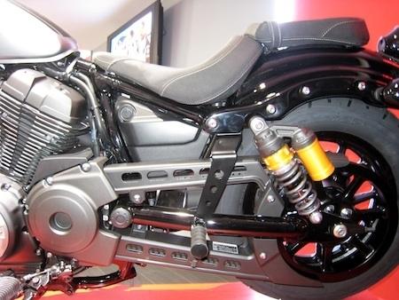 Access Design rallonge les supports de repose-pieds des Yamaha XV950 et XV950R