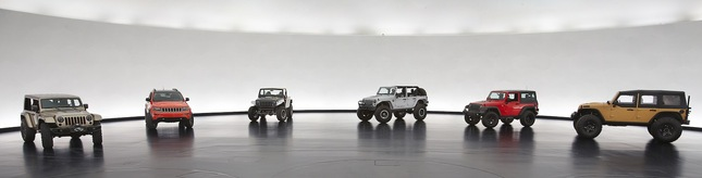 Moab Easter Jeep Safari 2013 : 6 concepts pour faire le buzz