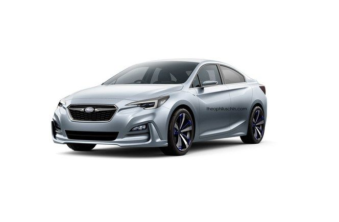 Design : un graphiste imagine la berline Subaru Impreza Sedan Concept à venir