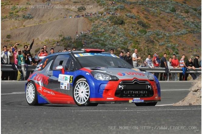 FIA ERC Gran Canarias : Kubica meilleur temps du shakedown