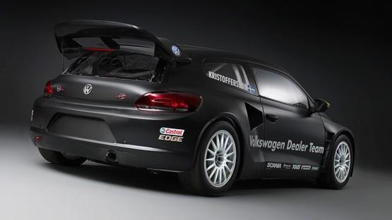 Une Volkswagen Scirocco de 500 ch en rallycross