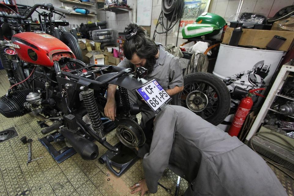 Reportage découverte Caradisiac Moto : Blitz Motorcycles, la minutie épurée [+vidéo]