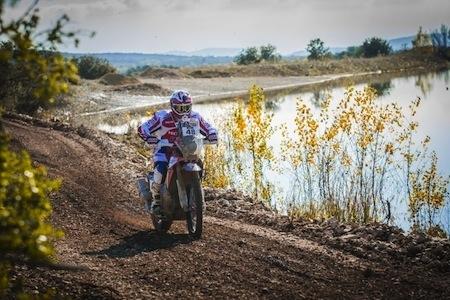 Givi rejoint le Team HRC et part pour le Dakar 2016