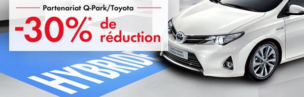Q-Park et Toyota s'associent