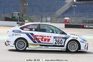 Jari-Matti Latvala sur une Focus aux 24h du Nürburgring