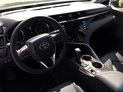 Toyota Camry 2019 : les premières images de l'essai en direct + Premières impressions