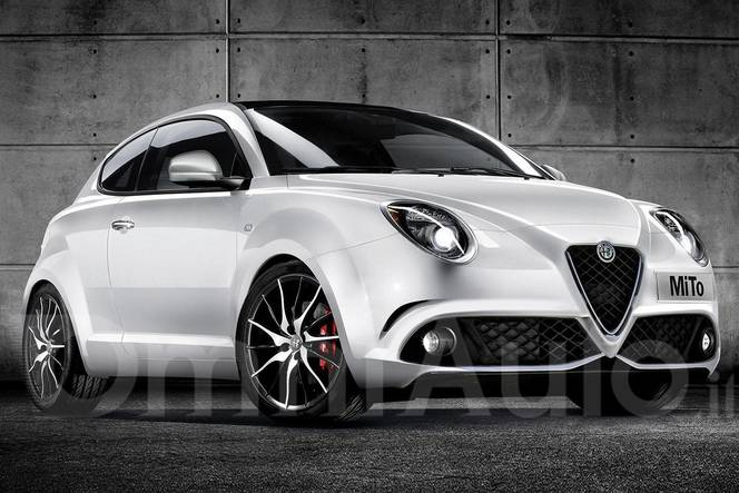 future alfa romeo mito restyl e comme a. Black Bedroom Furniture Sets. Home Design Ideas