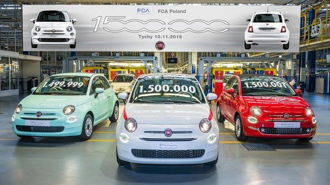 La Fiat 500 moderne franchit la barre des 1,5 million d'exemplaires produits
