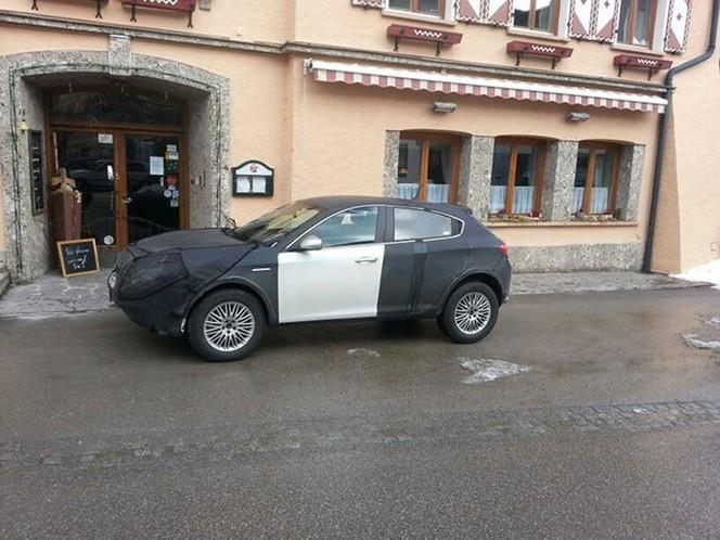 Surprise : le crossover Alfa Romeo de nouveau de sortie