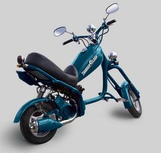 Honda Thunder & Flash : 70cc dans du métal.