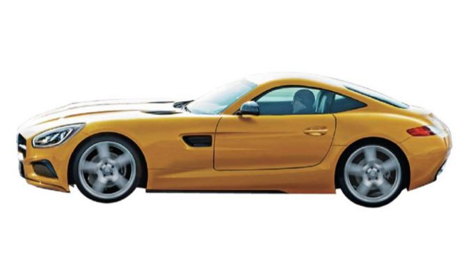 Future Mercedes AMG GT: comme ça?
