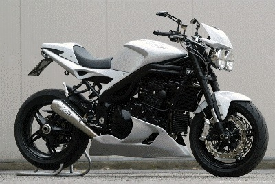 Triumph Speed Triple: preparation made in Italia