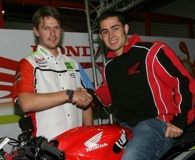 Superbike - Honda: Leon Haslam, cinquième britannique à se lancer dans le mondial 2009