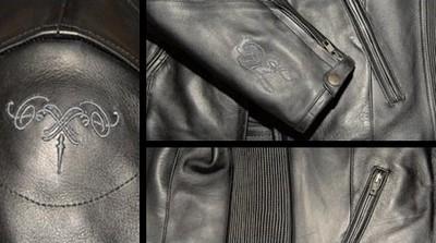 Blouson Tannie, du cuir, du textile... pour les filles