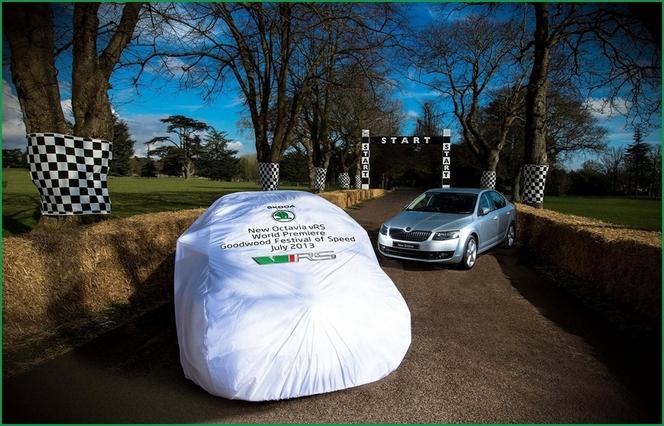 Festival of Speed de Goodwood : la Skoda Octavia RS sera présente