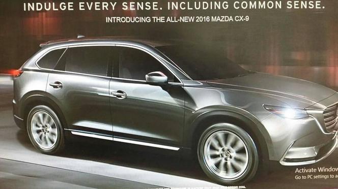 Surprise : le nouveau Mazda CX-9 en fuite