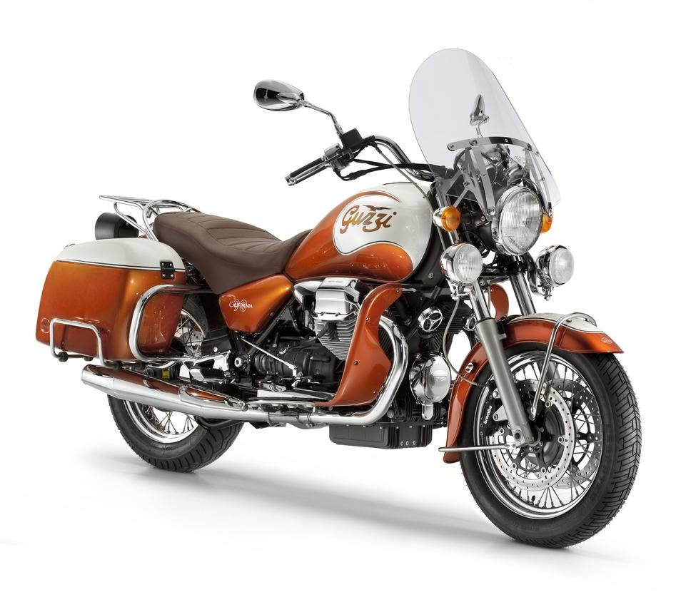 Moto Guzzi : la California Vintage 90ème anniversaire