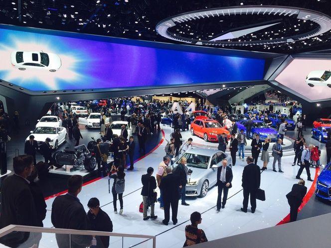 Les ventes du groupe VW ont marqué des signes d'essoufflement en octobre, même chez Audi (ici le stand du constructeur au dernier salon de Francfort).
