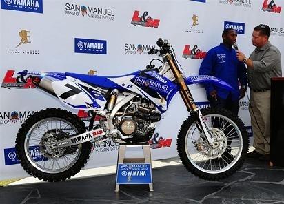 James Stewart signe Yamaha pour 2009