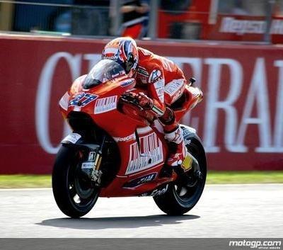 Moto GP - Valence Qualification: Stoner déroule