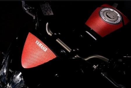 Yamaha FZ-8: série spéciale Red-Line