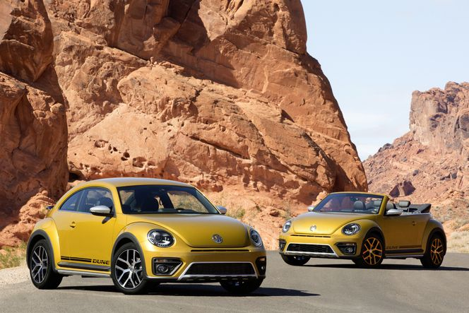 Volkswagen officialise la Beetle Dune