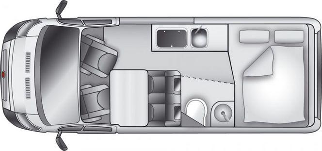 Nouveau Westfalia Amundsen 540: une maison mobile de 5,40 m de long