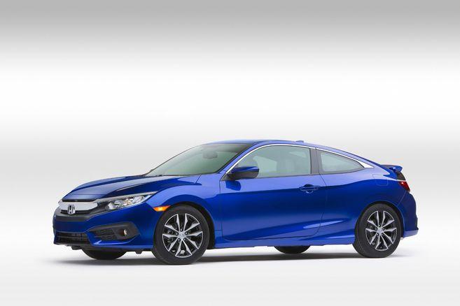Salon de Los Angeles - Honda Civic Coupe : officielle