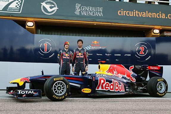 F1 2011 - La Red Bull RB7 dévoilée