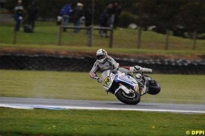 Moto GP - Australie: Une première ligne manquée de peu pour Randy
