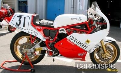 Ducati 750 F1.