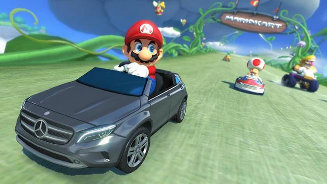 Le Mercedes GLA débarque...dans Mario Kart 8