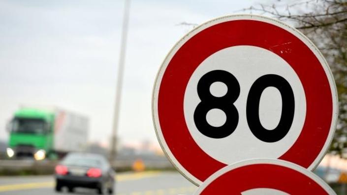 59% des Français sont contre cette limitation à 80 km/h...mais 73% assurent qu'ils la respecteront.